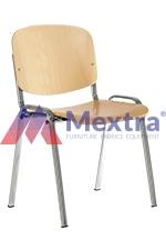 Krzesło konferencyjne ISO WOOD