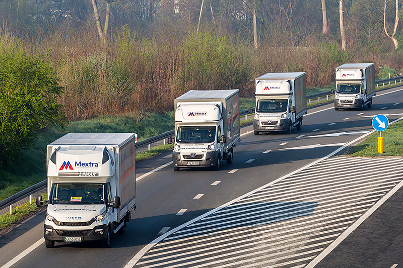 <b>Delivery fleet</b><br>so that Your order is with you on time